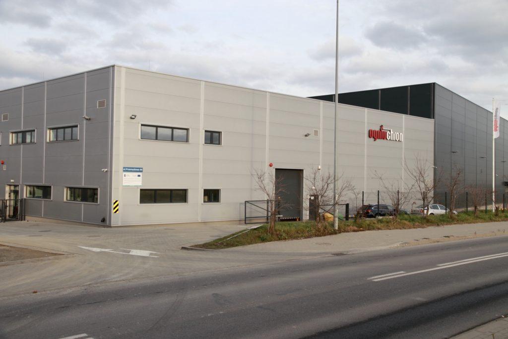 Ogniochron fabriek